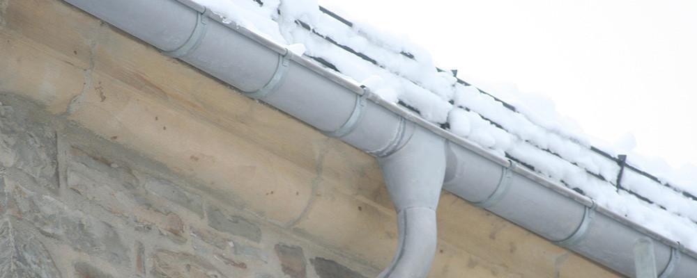 Dachentwässerung verzinnt Denkmalschutz