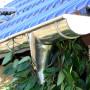 Dachentwässerung aus Edelstahl walzblank