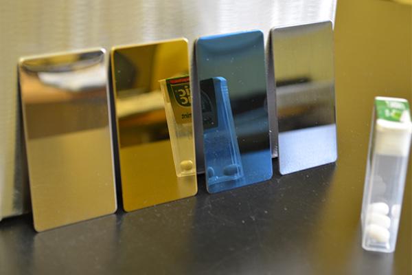 Bevorzugt Strukturierter- und farbiger Edelstahl - BRANDT Edelstahldach GmbH TI57