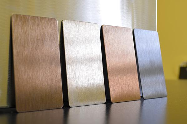 Top Strukturierter- und farbiger Edelstahl - BRANDT Edelstahldach GmbH PO81